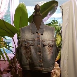 Size 18/20 Jean Vest